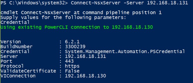 Getting Started with PowerNSX