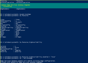 VMware NSX Edge High Availability – PowerShell Config