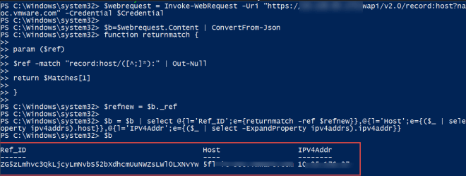 Invoke Infoblox Rest API calls with PowerShell