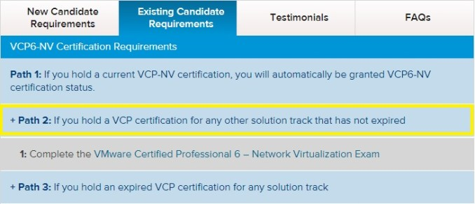Current VCP holders: Skip official course, go immediately to any VCP ...