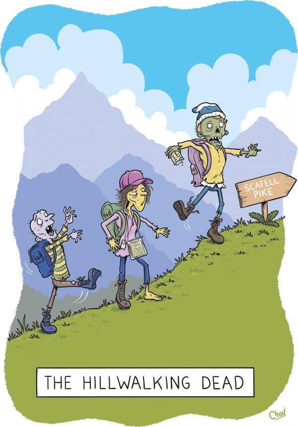 The Hillwalking Dead by Simon Chadwick