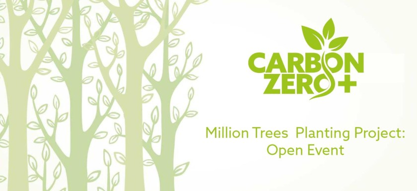Carbon Zero - Million Trees Plating Project