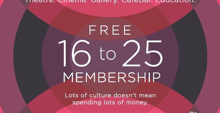 The Dukes Free 16 to 25 Membership Promotion