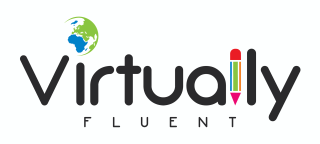 Virtually Fluent logo