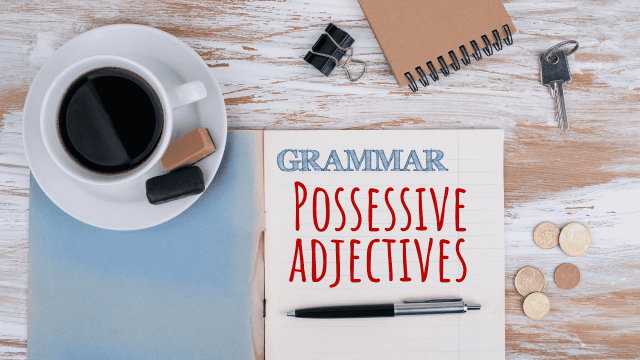 Possessive Adjectives Course Image
