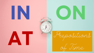 Prepositions of Time Course Image