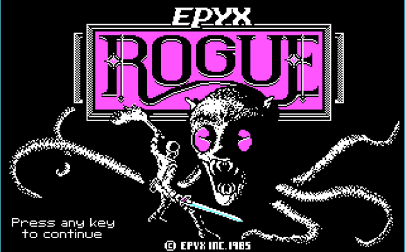Rouge 1.48 title screen