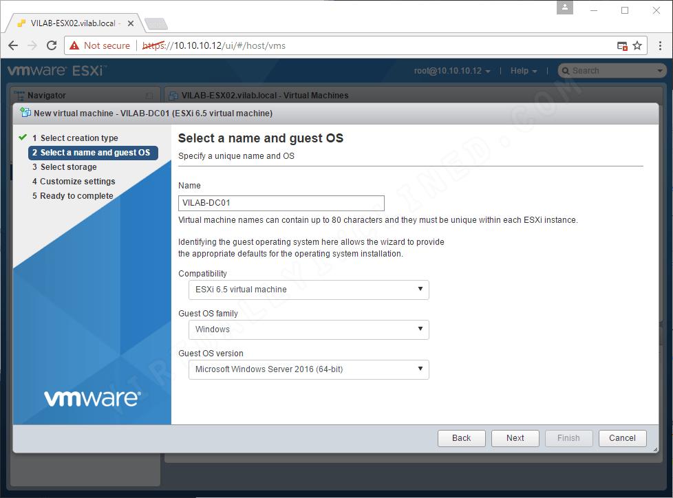 VMware vSphere 6 5 Series (Part 2) – VMware Host Client