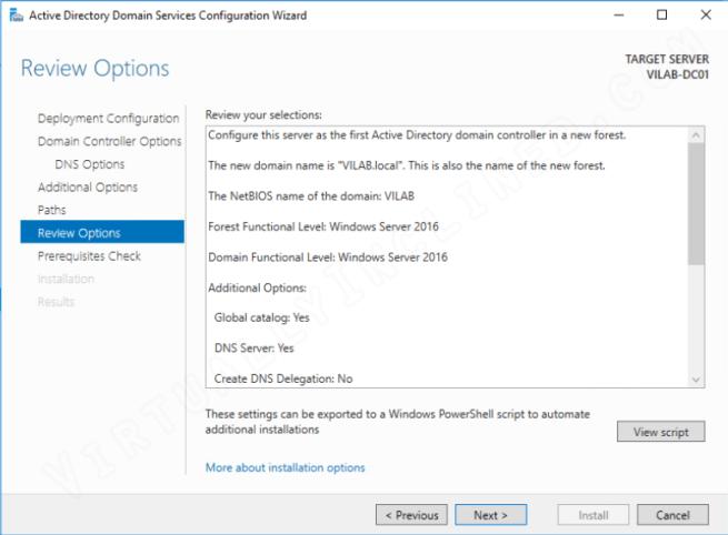 Active Directory Setup