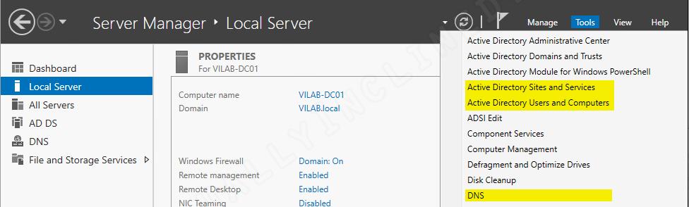 Windows Server 2016 - Active Directory Setup - Part 3