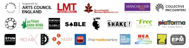 Continent Chop Chop - funders and partners logos