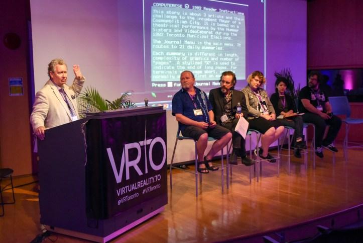 VRTO Panel on Artist-Run Co-ops at VRTO 2017