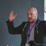 "Joel Zika discusses his ""Dark Ride Project"" for 4K 360 at VRTO 2017"