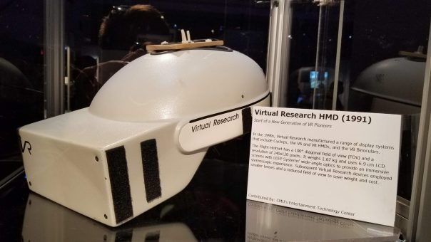Virtual Reality Research HMD