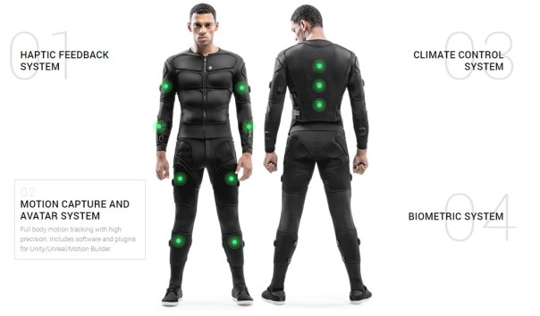 teslasuit - haptic technology