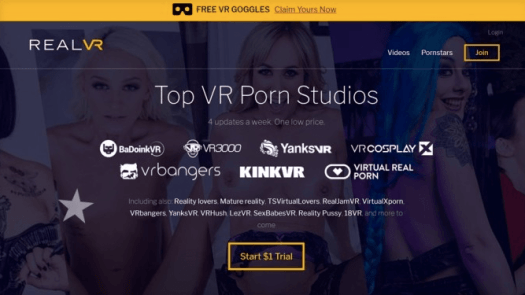 real vr porn site