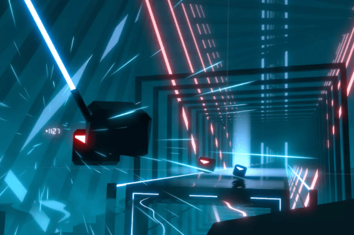 Beat Saber Origins Available on SteamVR