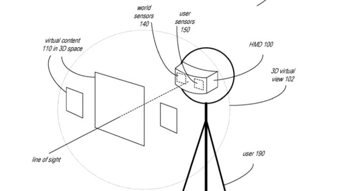 Apple Patented Gesture and Expression Tracking for Mixed Reality Headsets