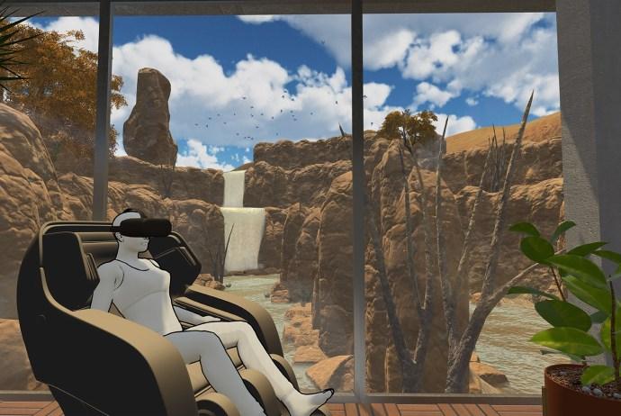 Esqape Virtual Reality Massage