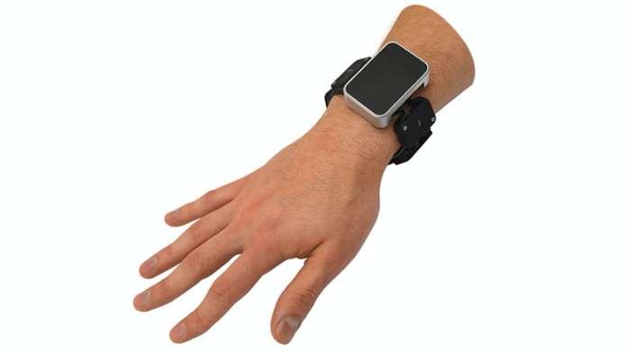 Facebook Tasbi haptic feedback wristband prototype
