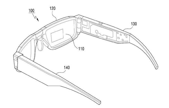 Samsung Foldable Smart Glasses