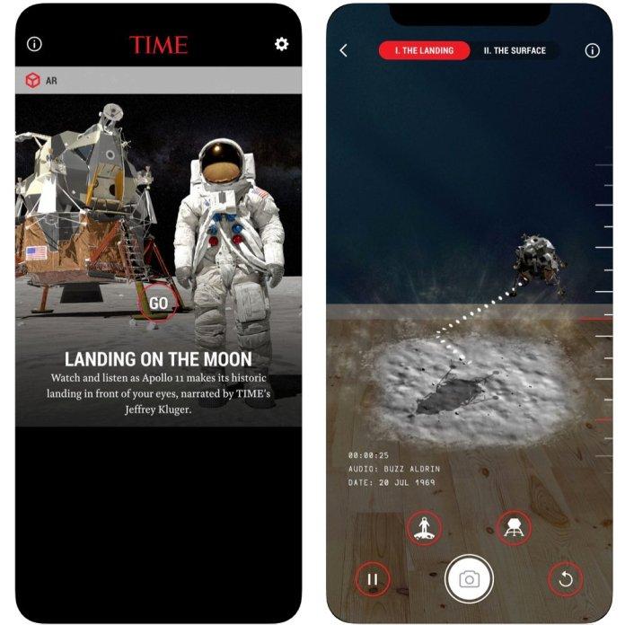 TIME Immersive AR App