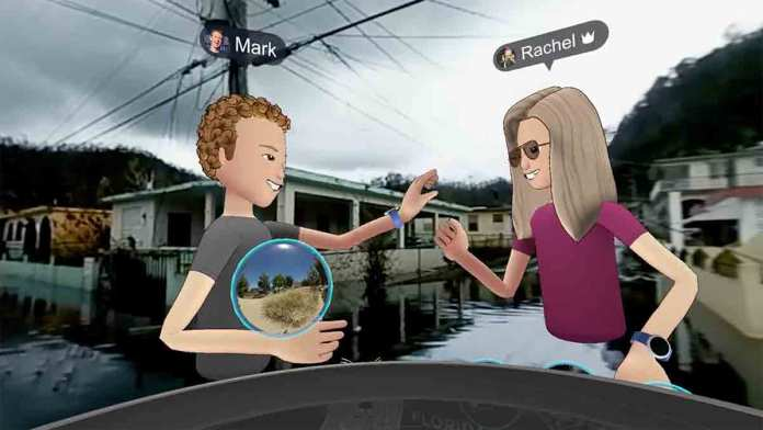 Facebook Spaces Travel