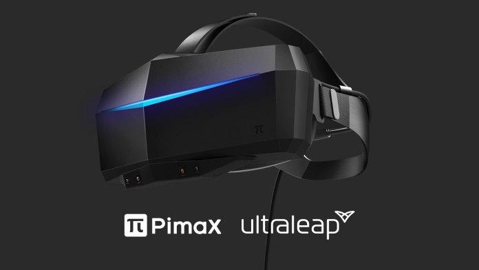 Pimax Ultraleap Hand Tracking