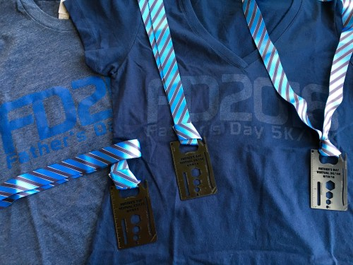 Father's Day Shirts & Medal