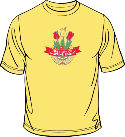 First Day of Spring 2016 SHIRT