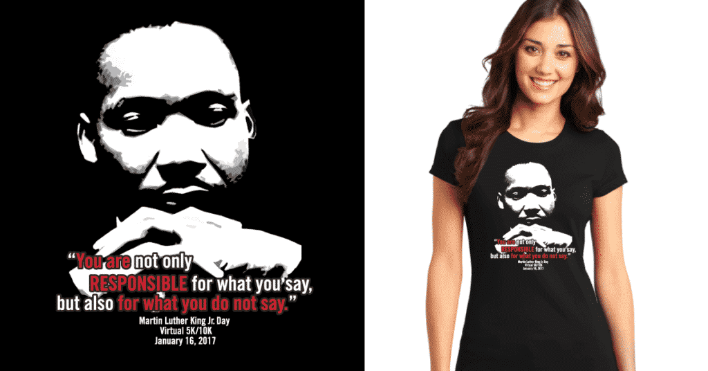 MLK Race Shirt