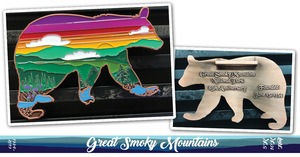 Great Smoky Mountains 85th Anniversary Virtual Race Medal