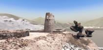 """Anflug auf den Wachturm in """"Wadi Al Helo VR"""", (C) Pablo Dornhege"""