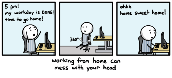 "12 Hilarious ""Truths"" About Working from Home"