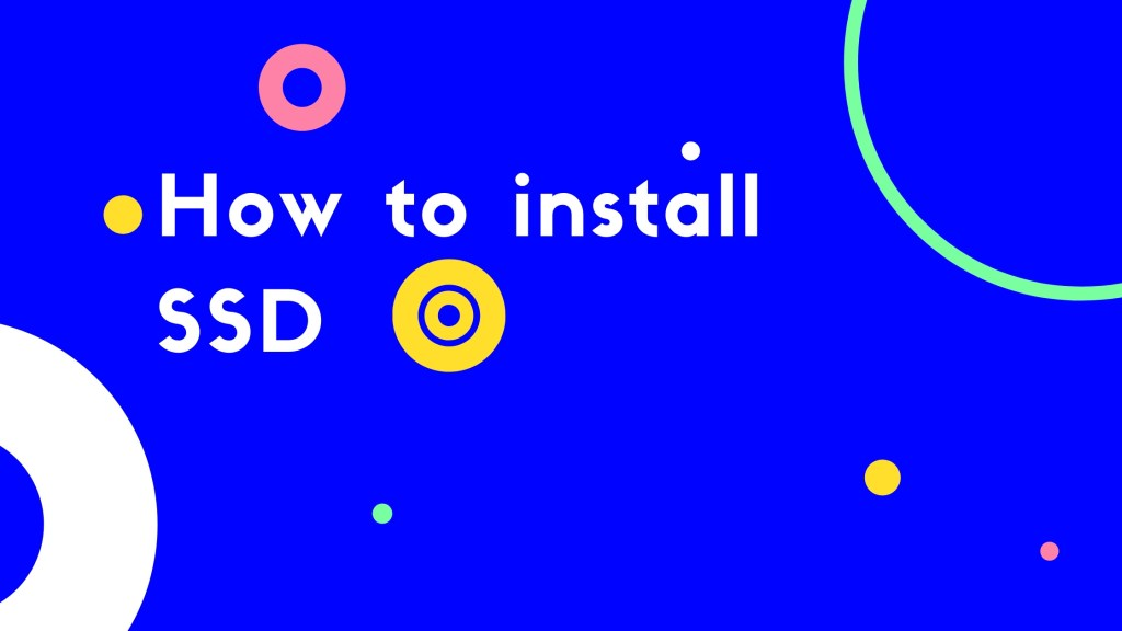 How to install SSD [Solid State Drive] on your PC/Laptop