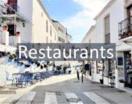 Restaurants in Mijas