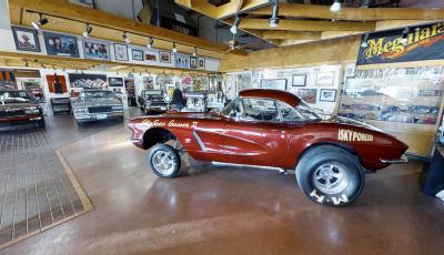 D&M Corvette and Classic Car Showroom Downers Grove 3D Model