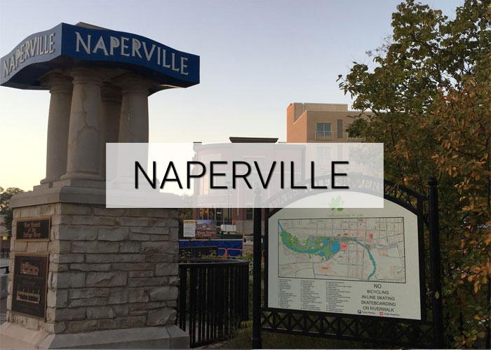 Naperville City in Illinois