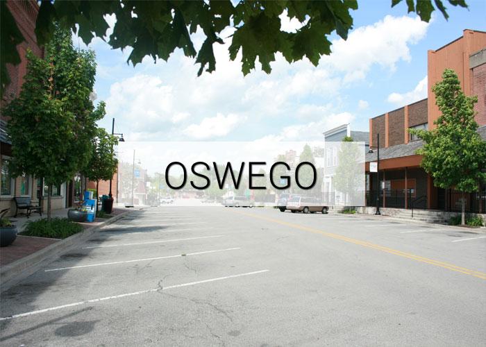 Oswego Village in Illinois