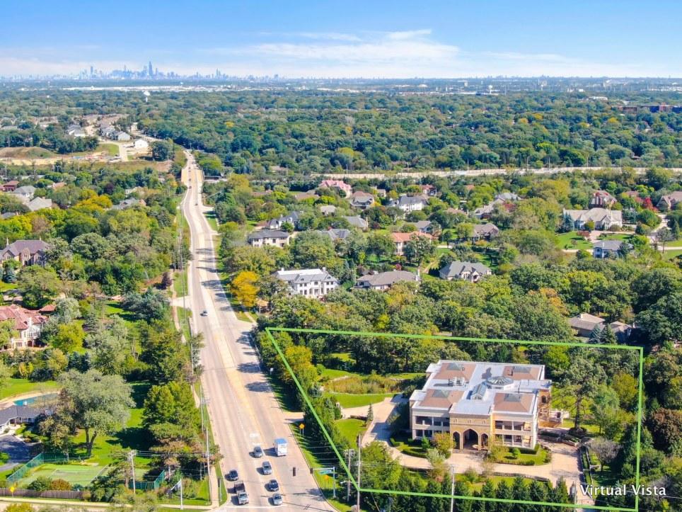 Luxury property Aerial photo