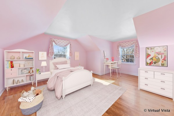 kids room after virtual staging