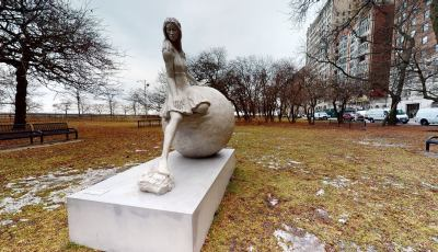 Sculpture in Chicago, World Traveler 3D Model