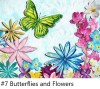 Painting, art, Butterfly, Flowers, zoom class, video Conferencing, class, instruction, virtual
