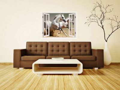 Wall Stickers For Bedroom Kitchen Home Decor Window Illusion