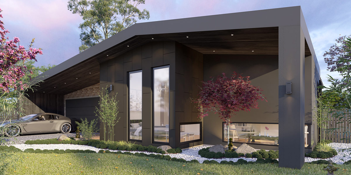 Artists impression of Display Home in Drouin