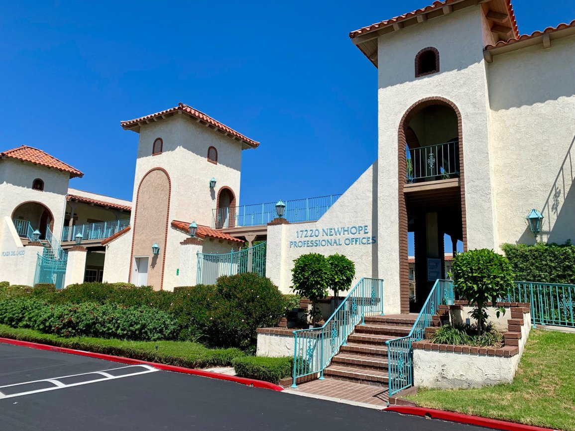 Clinic building located in Fountain Valley, CA