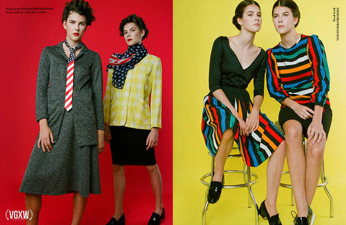 Playful Fashion Editorial by Ajuan Song | VGXW