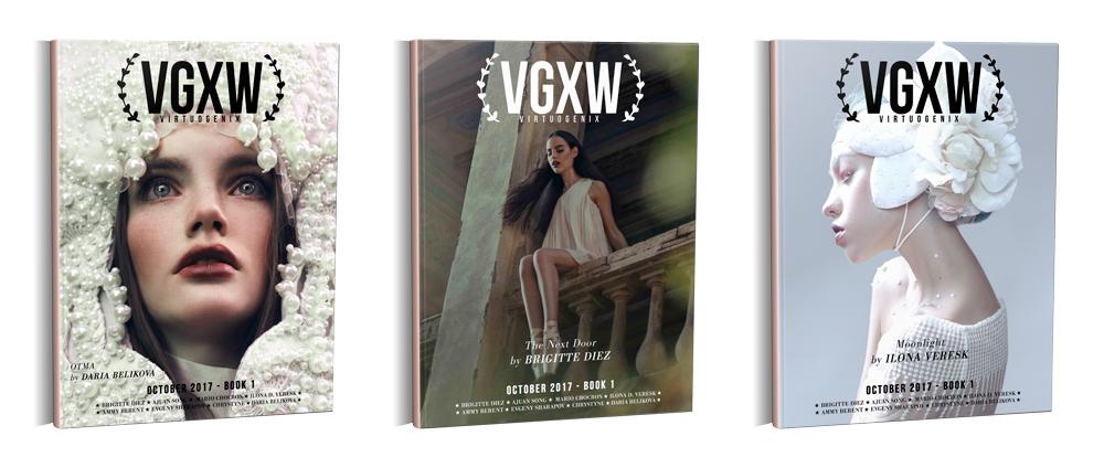 VGXW Magazine - Daria Belikova, Brigitte Diez, Ilona Veresk