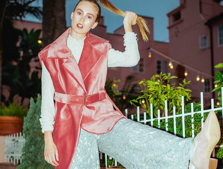 Fifty Shades of Pink - A style editorial by fashion photographer Hellen Merwin for VGXW Magazine