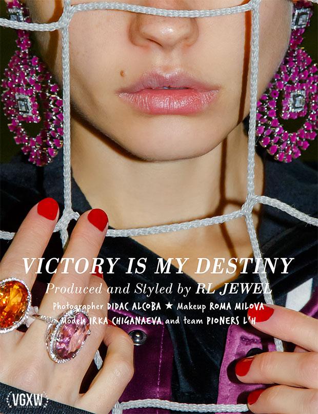 Style Editorial: RL Jewel, Irka Chiganaeva, Pioners L'H for VGXW Magazine | virtuogenix.online